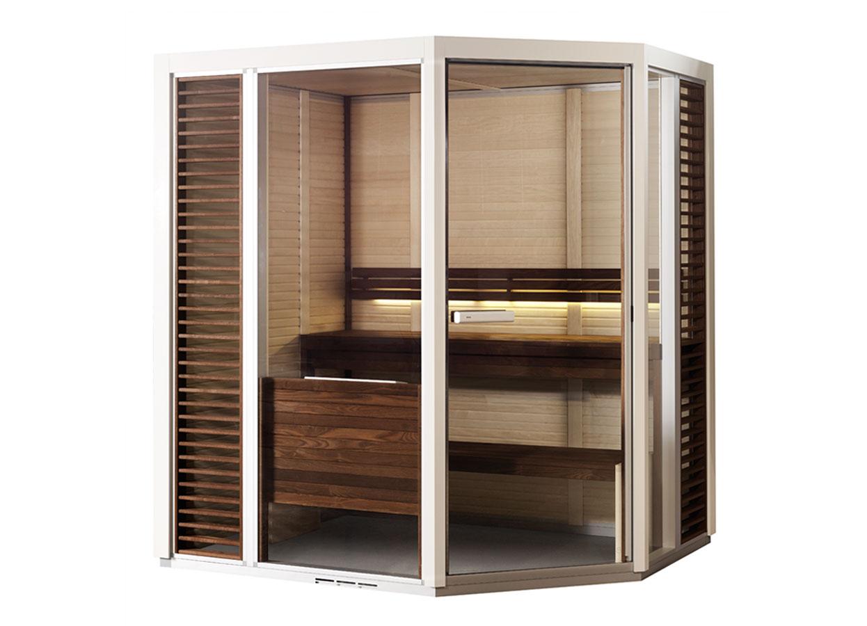 Sauna traditionala cu inserti de sticla TYLO - Poza 10