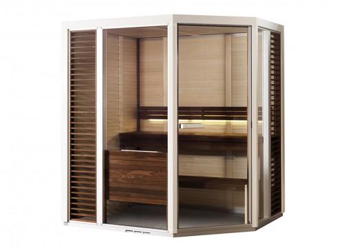 Prezentare produs Sauna traditionala cu inserti de sticla TYLO - Poza 10