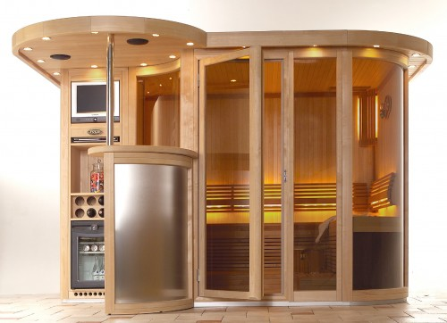 Prezentare produs Sauna de lux TYLO - Poza 1