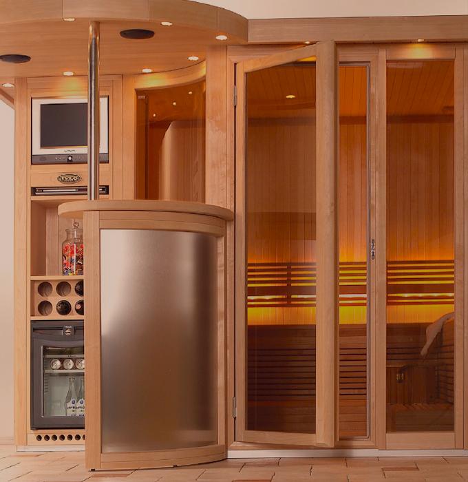 Sauna de lux TYLO - Poza 2