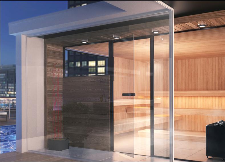 Sauna de lux - mixta TYLO - Poza 3