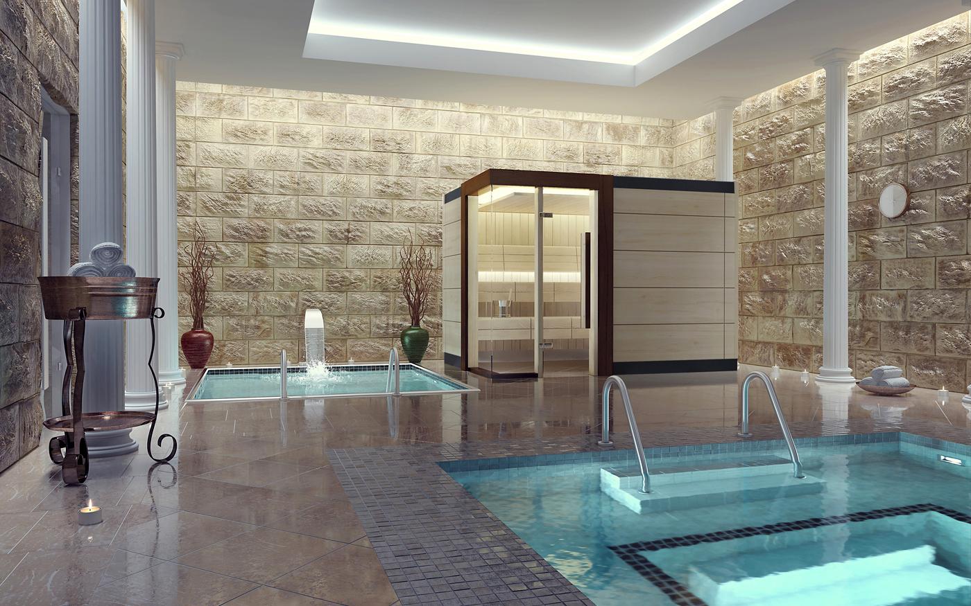 Sauna de lux - mixta TYLO - Poza 1