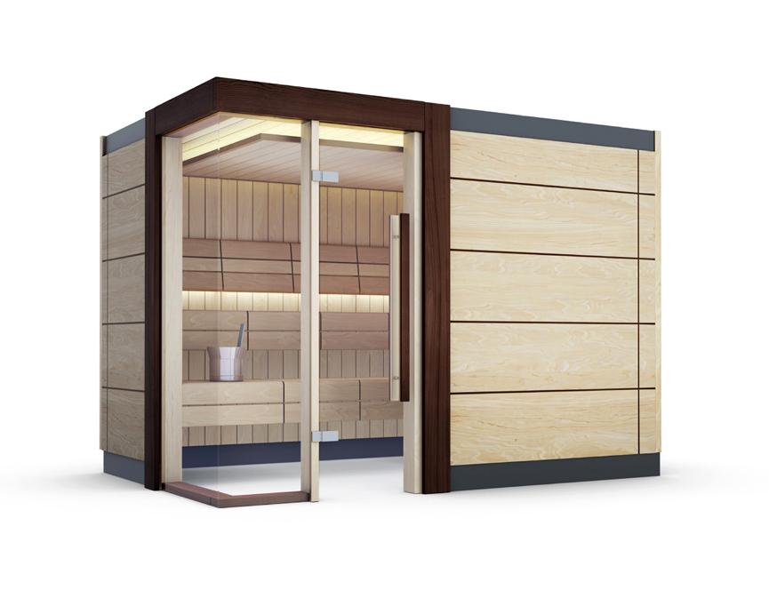 Sauna de lux - mixta TYLO - Poza 2