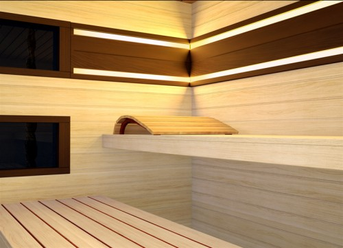 Prezentare produs Sauna de lux - mixta TYLO - Poza 3