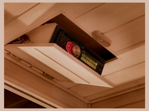 Prezentare produs Saune cu infrarosu TYLO - Poza 2