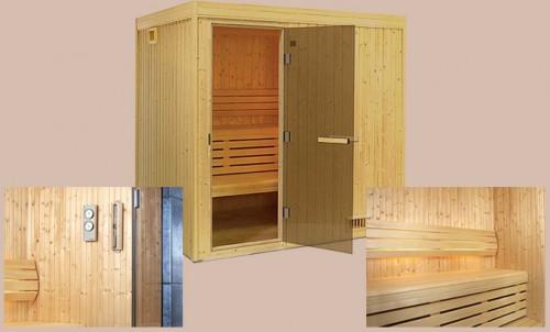 Prezentare produs Sauna traditionala (uscata) TYLO - Poza 1