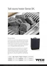 Cuptor electric pentru saune TYLO