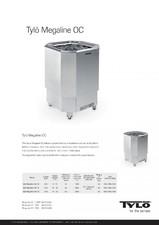 Cuptor electric pentru saune mari (Domeniul public) TYLO