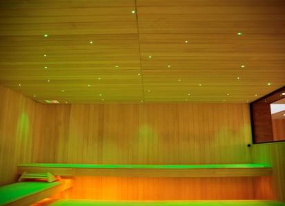 Solutii de iluminare pentru saune / Proiector de lumina alba sau colorata pentru saune 1