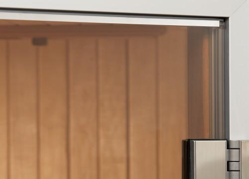 Prezentare produs Usa pentru saune - ALU LINE 3 TYLO - Poza 3