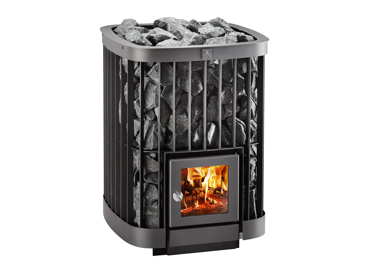Cuptor pe lemne pentru saune - Saga 20 TYLO - Poza 2