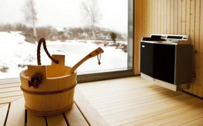 Cuptoare electrice pentru saune mari - Domeniul Public / Cuptor electric pentru saune mari (Domeniul public) - SDK-SD