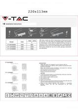 Tuburi cu led V-TAC