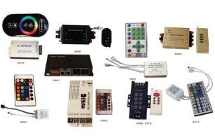 Accesorii pentru becuri, lampi V-TAC ofera accesorii pentru becuri si lampi intr-o gama foarte larga: surse de alimentare pentru LED;regulatoare intensitate;controlere LED;conectori banda LED.