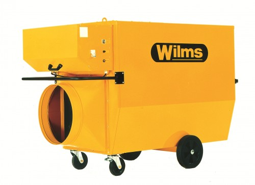 Prezentare produs Generatoare de aer cald Wilms - Poza 1