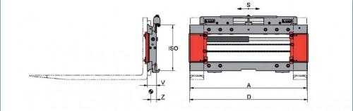 Prezentare produs Desene tehnice pentru sisteme de pozitionare furci KAUP - Poza 3