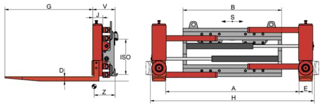 Desene tehnice clampuri, sisteme de strangere KAUP - Poza 1