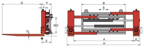 Prezentare produs Desene tehnice clampuri, sisteme de strangere KAUP - Poza 1