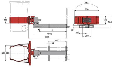 Desene tehnice clampuri, sisteme de strangere KAUP - Poza 3