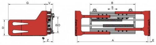 Prezentare produs Desene tehnice clampuri, sisteme de strangere KAUP - Poza 5