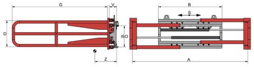 Desene tehnice clampuri, sisteme de strangere KAUP - Poza 6