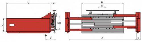 Prezentare produs Desene tehnice clampuri, sisteme de strangere KAUP - Poza 7
