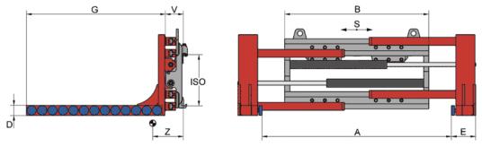 Desene tehnice clampuri, sisteme de strangere KAUP - Poza 8
