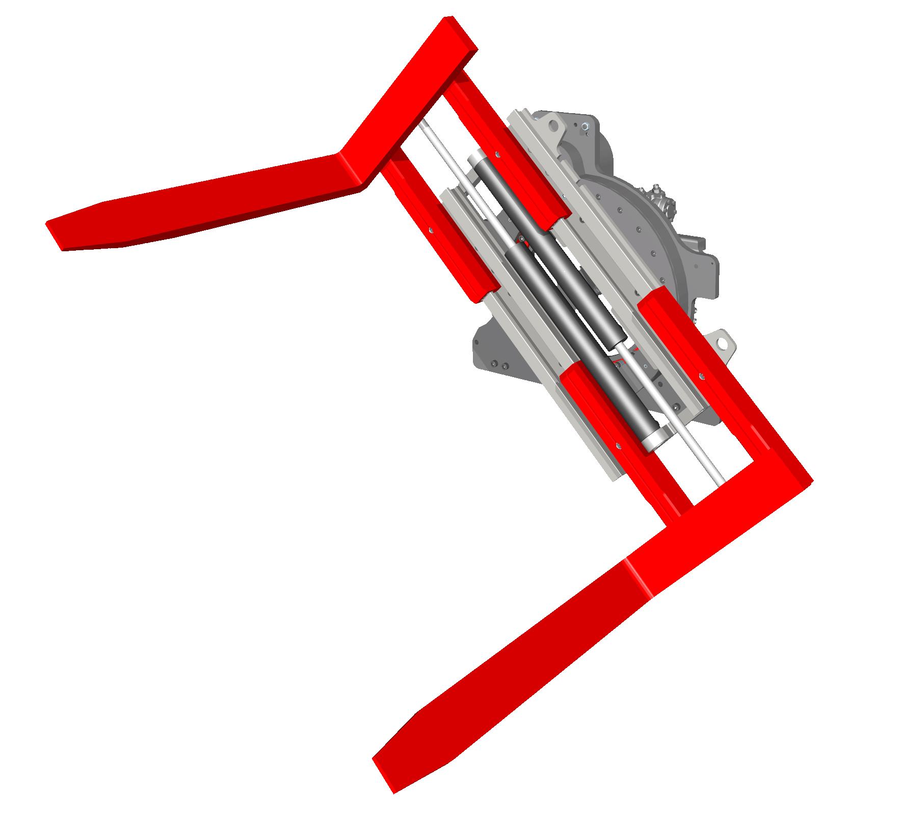 Sisteme cu rotire (furci cu clamp, clampuri, cupe etc.) KAUP - Poza 1