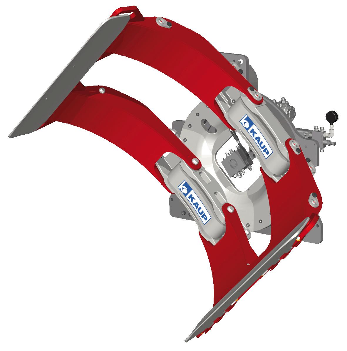 Sisteme cu rotire (furci cu clamp, clampuri, cupe etc.) KAUP - Poza 2