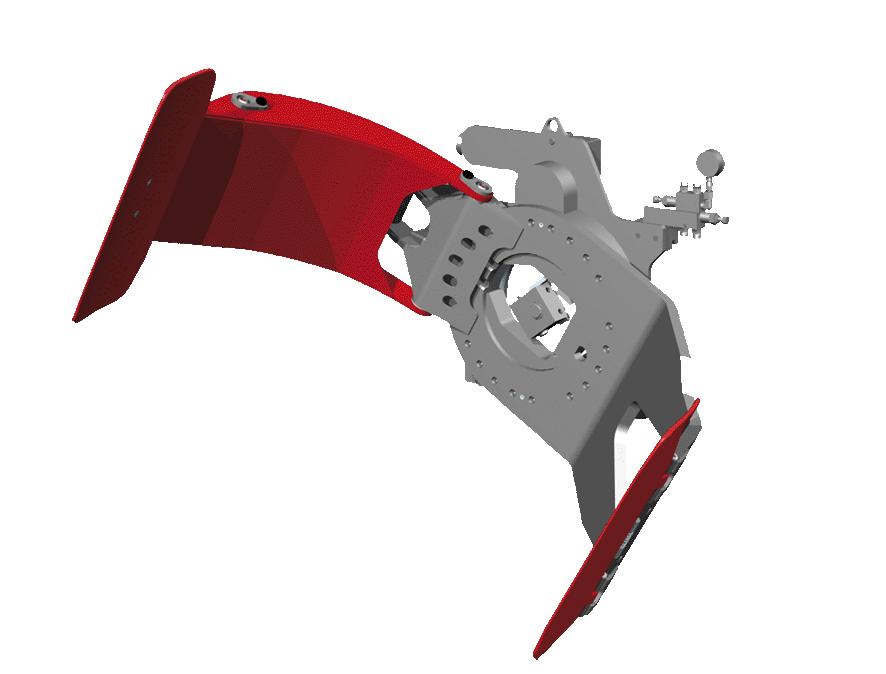 Sisteme cu rotire (furci cu clamp, clampuri, cupe etc.) KAUP - Poza 3