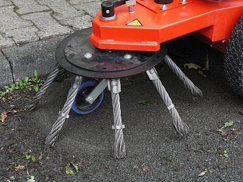 Exemple de utilizare Perie pentru indepartarea buruienilor ADLER - Poza 2