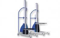 Transpalete si carucioare speciale Unilift distribuie transpalete si carucioare de diferite dimensiuni, concepute pentru a oferi utilizatorului o pozitie ergonomica corecta in momentul manipularii bunurilor.
