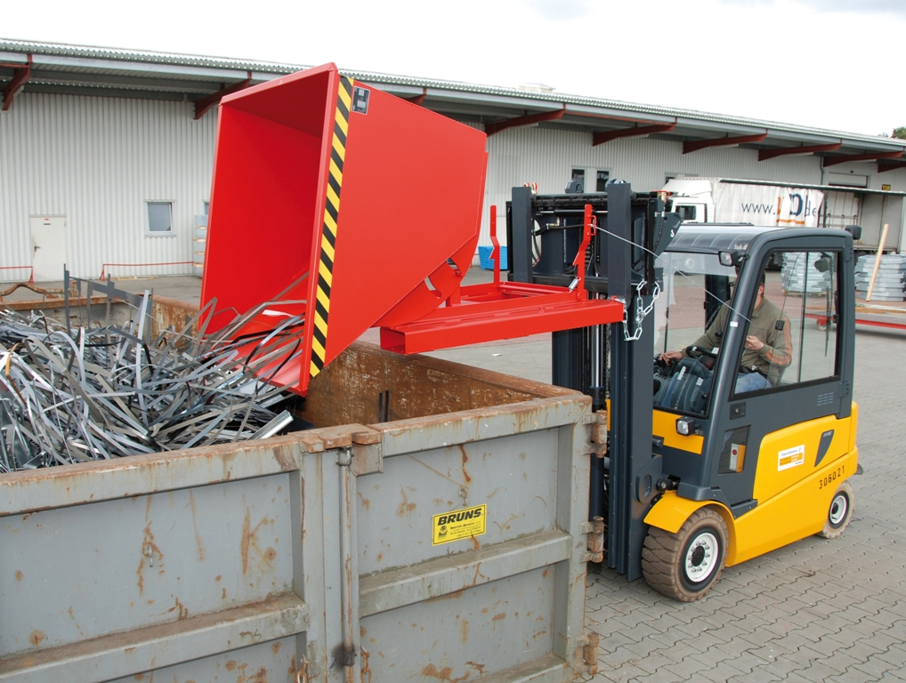 Container basculant BAUER - Poza 1