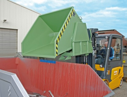 Container basculant BK Container basculant