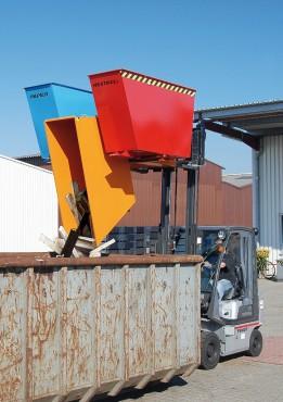 Prezentare produs Container basculant BAUER - Poza 1