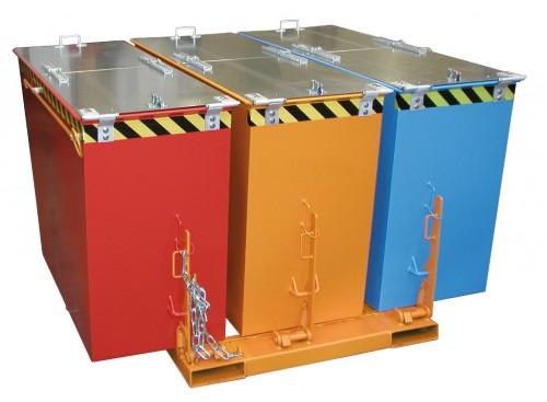 Prezentare produs Container basculant BAUER - Poza 3