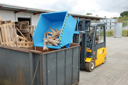 Container basculant GU Container basculant