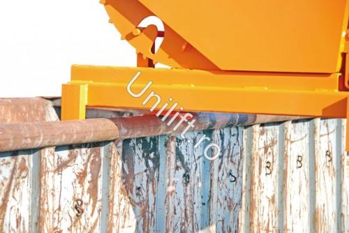 Prezentare produs Container basculant BAUER - Poza 5