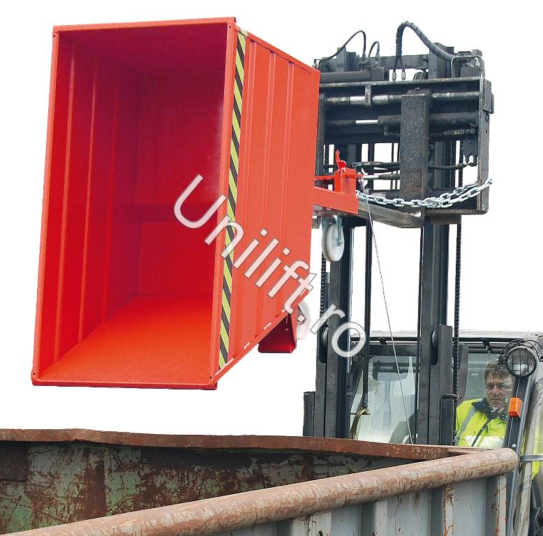 Container basculant BAUER - Poza 4
