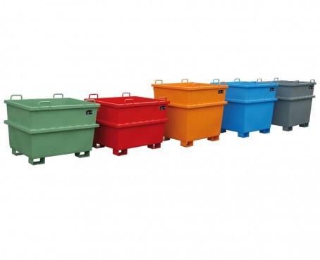 Prezentare produs Container basculant BAUER - Poza 2