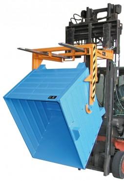 Prezentare produs Traversa pentru container basculant BAUER - Poza 1