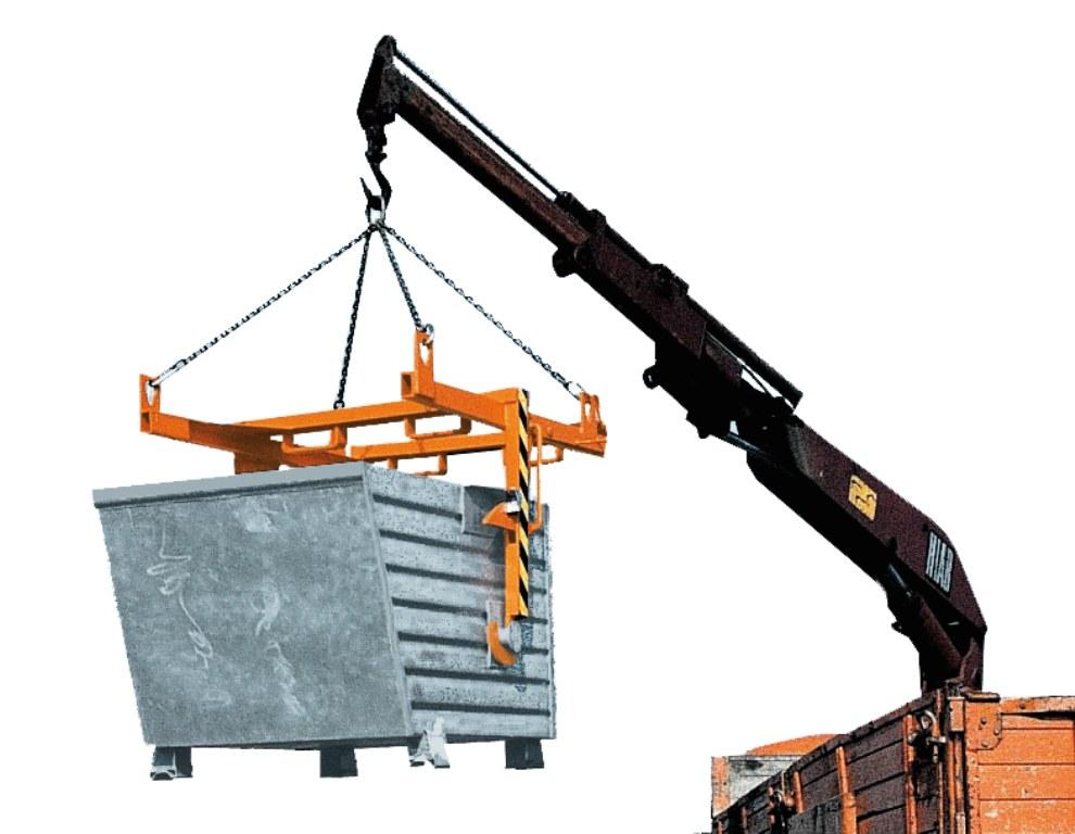Traversa pentru container basculant BAUER - Poza 2