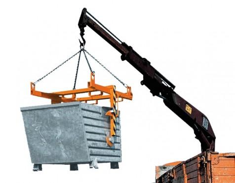 Prezentare produs Traversa pentru container basculant BAUER - Poza 2