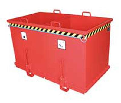 Prezentare produs Container cu deschidere inferioara BAUER - Poza 2