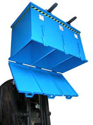 Container cu deschidere inferioara BAUER - Poza 5