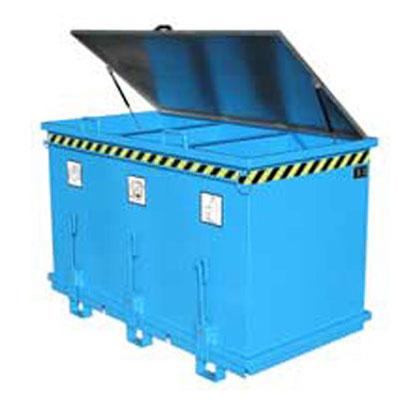 Container cu deschidere inferioara BAUER - Poza 7
