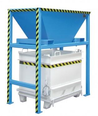 Prezentare produs Container cu deschidere inferioara BAUER - Poza 3