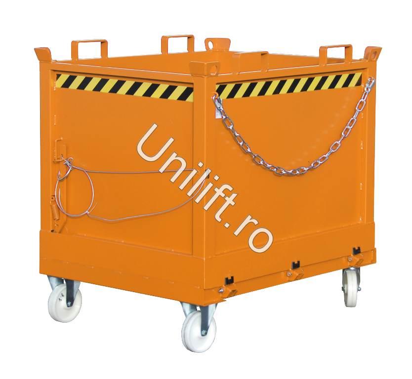 Container cu deschidere inferioara BAUER - Poza 2