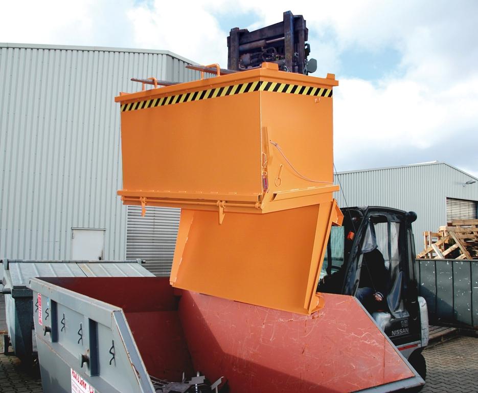 Container cu deschidere inferioara BAUER - Poza 1