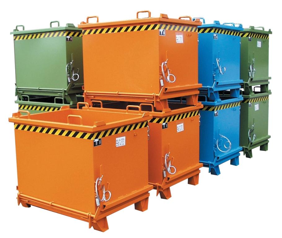 Container cu deschidere inferioara BAUER - Poza 6